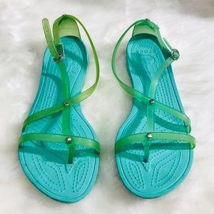 54b62819fce0 Women s Crocs Huarache on Poshmark